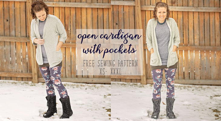 cardigan sewing pattern free