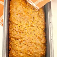 Healthy Carrot Loaf