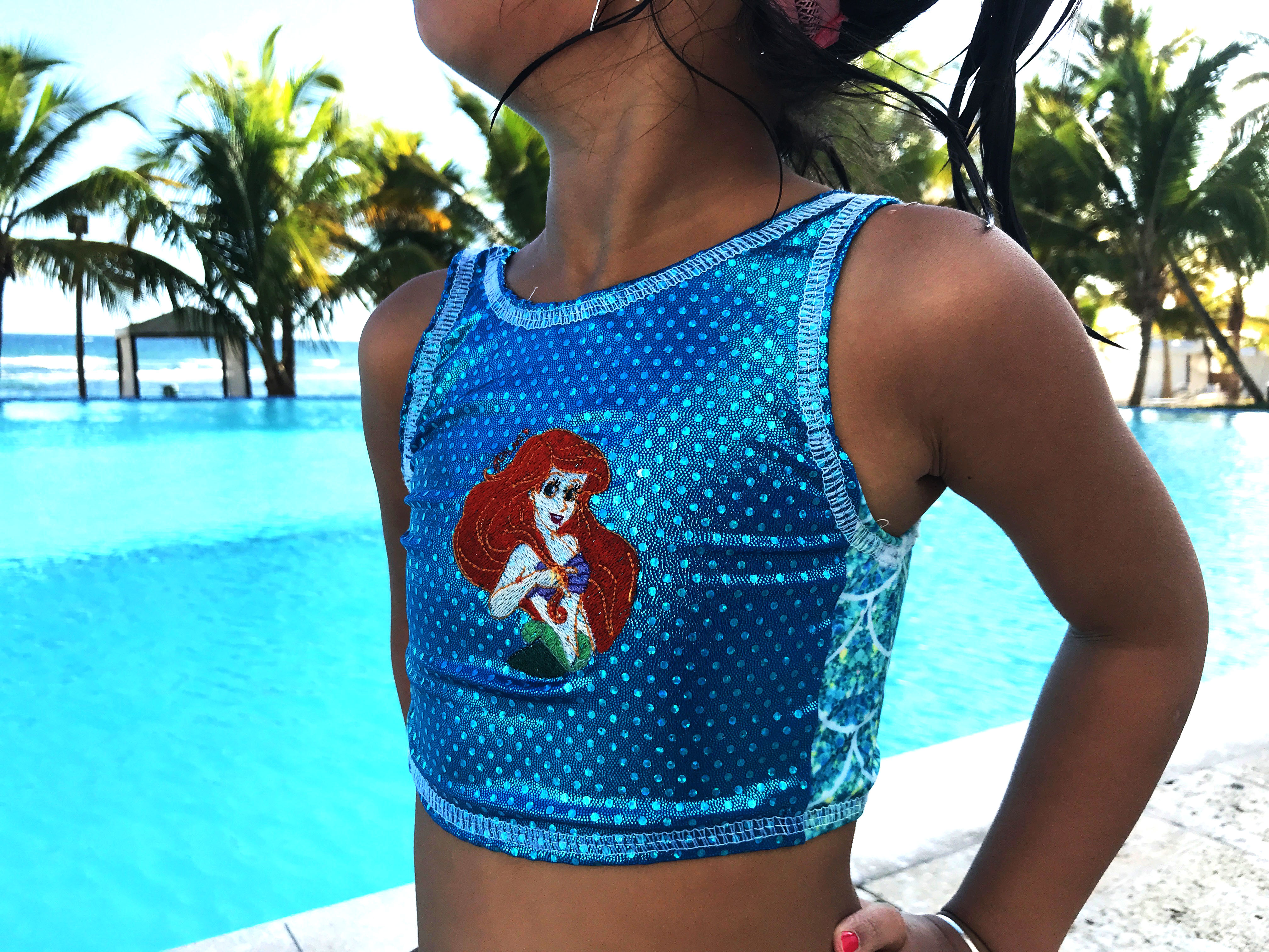 color blocking on a swim suit sewing tutorial