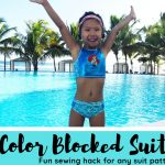 color cblocked swimsuit sewing hack
