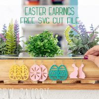 DIY Easter Earrings