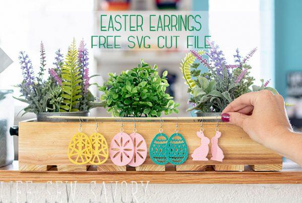 DIY Easter Earrings