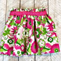 Girls Paperbag Bubble Skirt