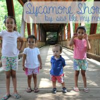 Sycamore Shorts Pattern
