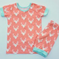 Short Sleeve Pajama Pattern