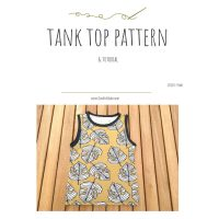 Summer Tank Top FREE Pattern with Tutorial