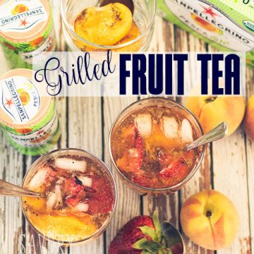 Grilled Fruit tea recipe for summer