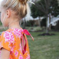 Knot Swing Dress - Free Pattern - The Sewing Rabbit
