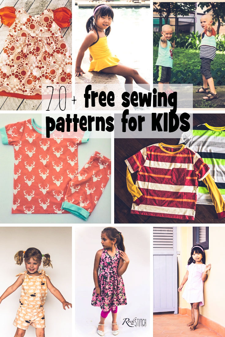 free sewing patterns for kids summer from Life Sew Savory #freesewingpattern #sewingforkids