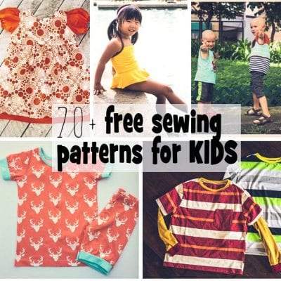 Sewing Patterns for Kids – Free for Summer