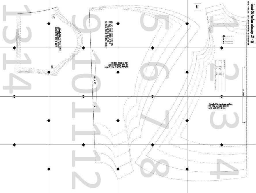 pdf sewing pattern layout guide