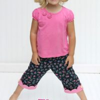 The Kipper Capris: Pattern and Tutorial - welcometothemousehouse.com