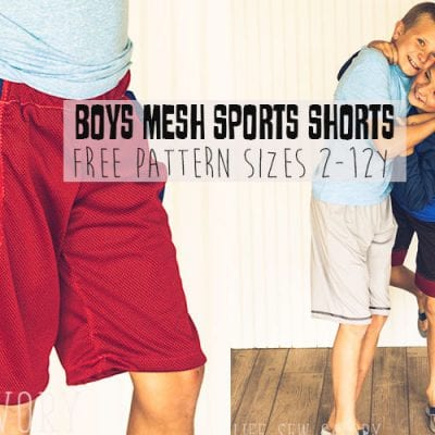 Free Shorts Sewing Pattern – Sports Shorts