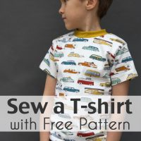 Sew a T-shirt for Boys - with Free Pattern