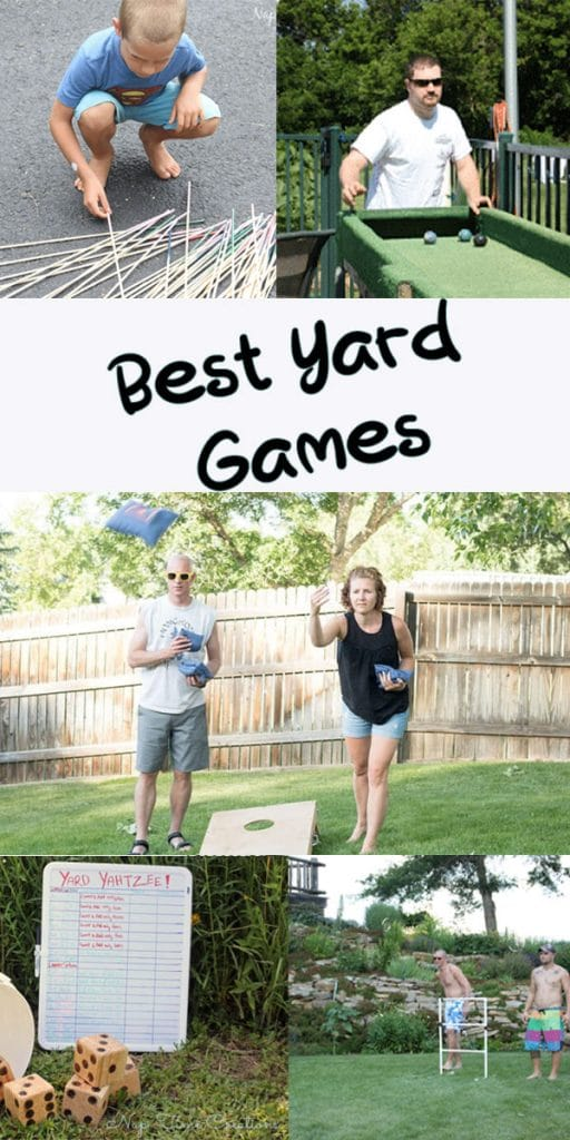 Best Yard Games