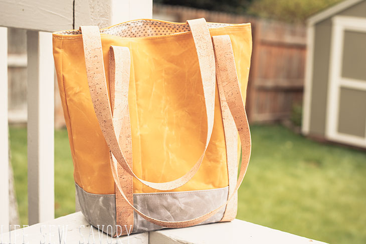 make a canvas tote bag