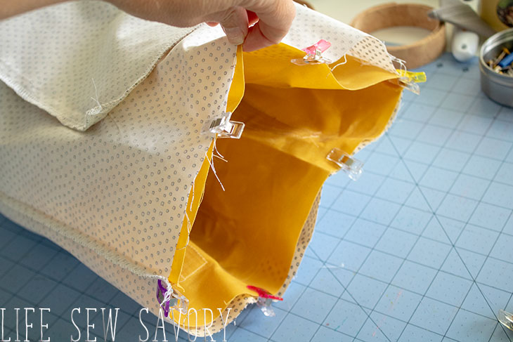 DIY canvas bag