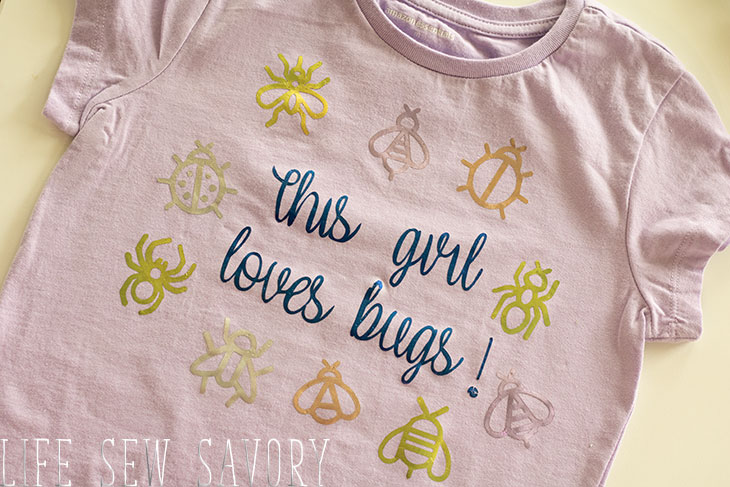 Insect themed shirt for kids