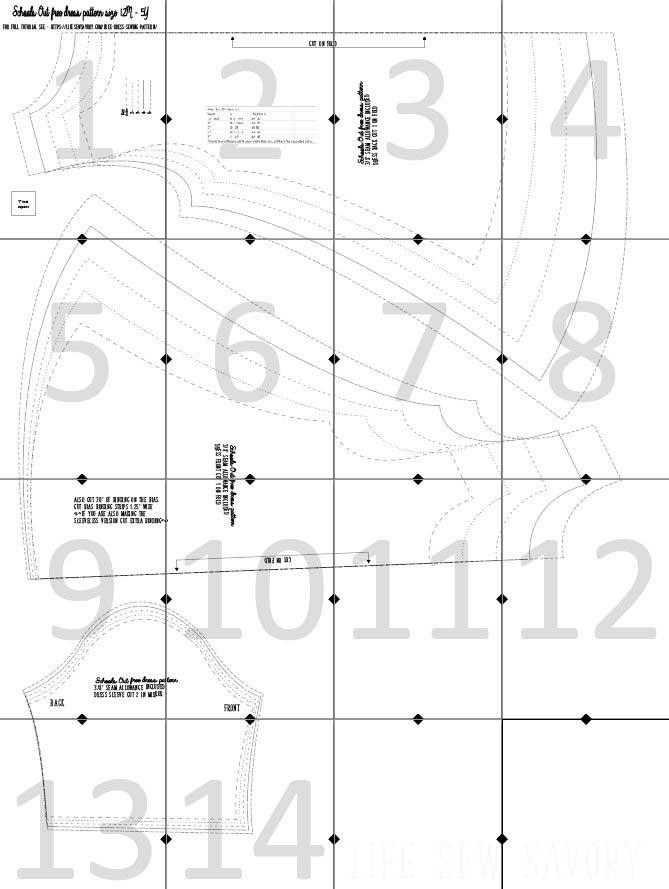 pattern layout guide
