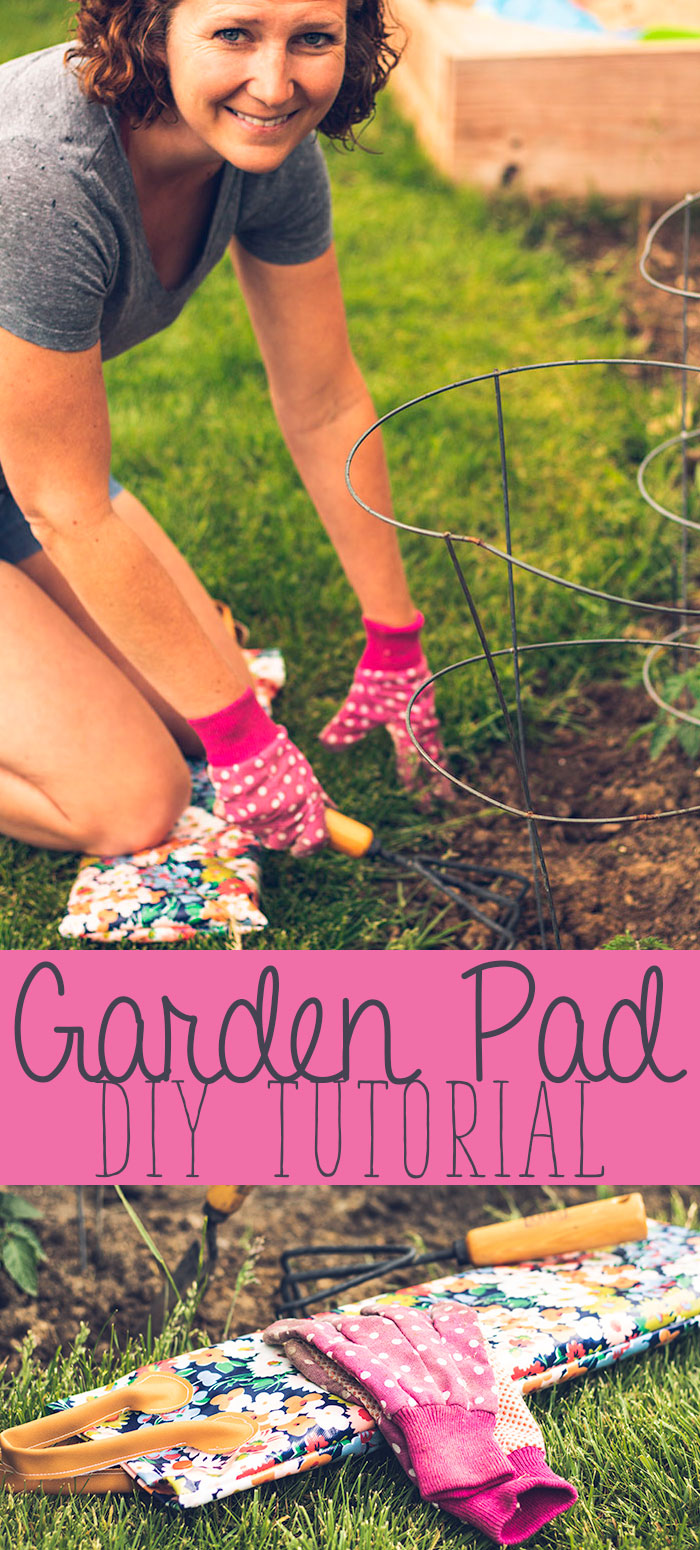 Gardening Knee Pad Tutorial easy summer sewing project from Life Sew Savory
