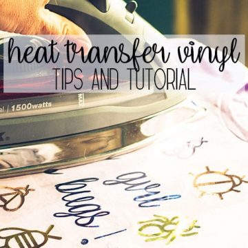 How to Use Heat Transfer Vinyl + Free SVG file