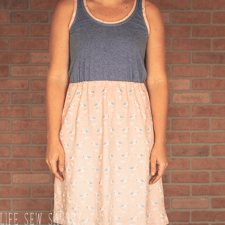 tank top dress pattern free