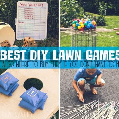 Best Yard Games – To Make or Buy