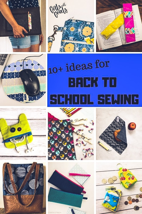 ideas for back to school sewing