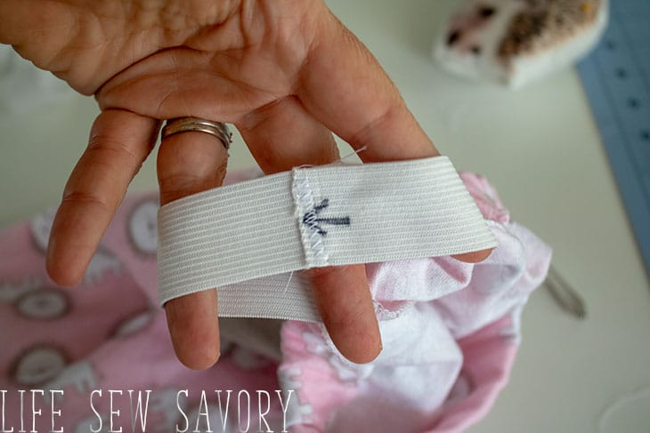 tips for sewing an elastic waistband