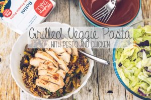 grilled veggie pasta recipe
