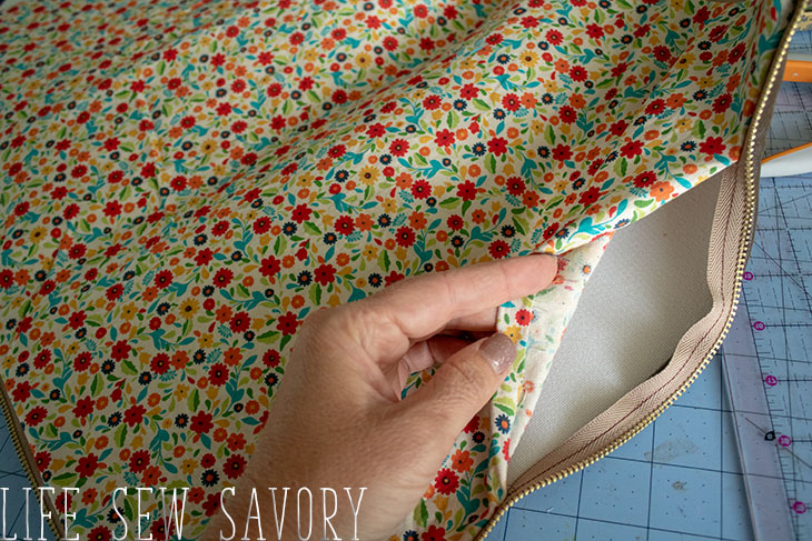 how to sew a laptop case