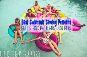 swimsuit sewing patterns for kids