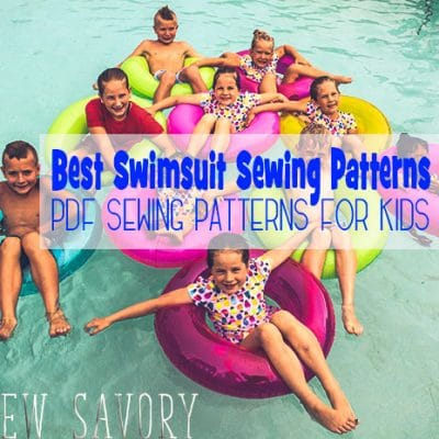 Best Swimsuit Sewing Patterns for Kids