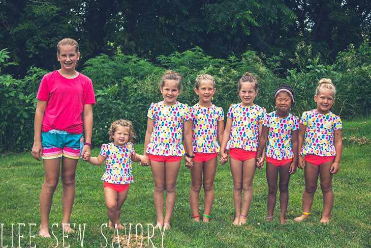 girls swimsuit sewing patterns to make