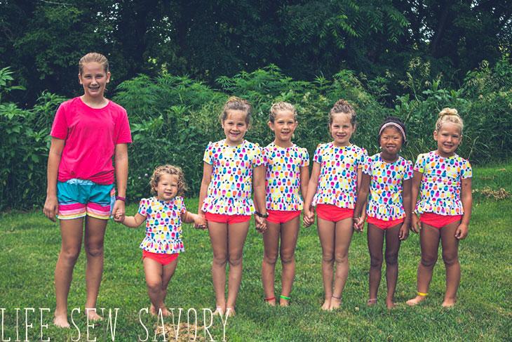 girls swimsuit sewing patterns to make