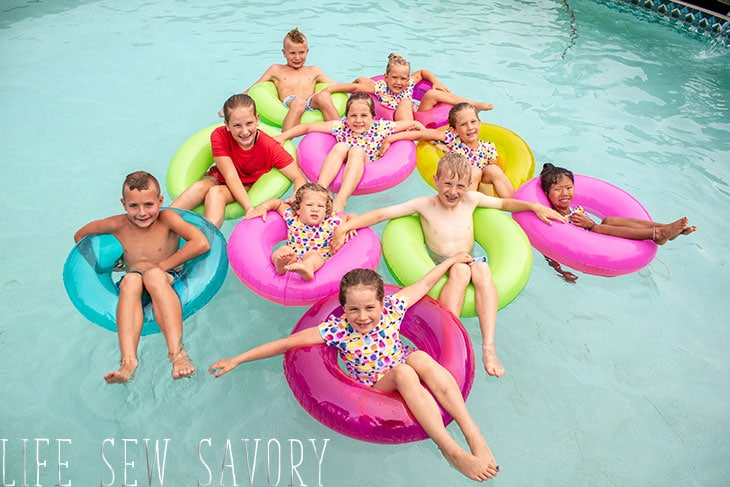 sewing kids swimsuits
