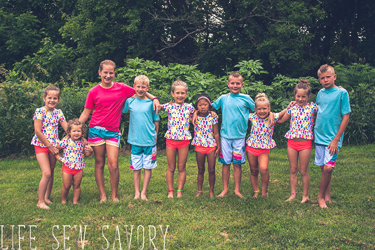 kids swimsuit patterns to sew