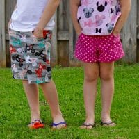 Potato Chip Shorts and Pants Pattern Boys Girls 12 months to 9/10 years