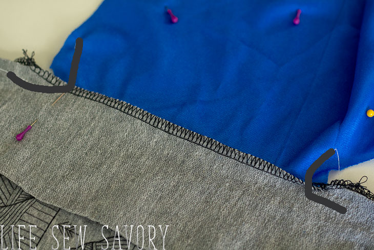 how to sew a pocket