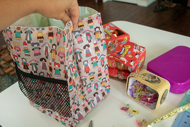 reusable lunch bag diy
