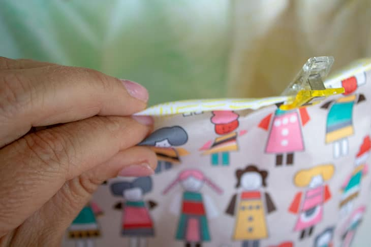 make your own DIY lunch bag