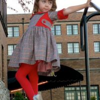 Vivienne Dress | Girls PDF Sewing Patterns | Frocks & Frolics
