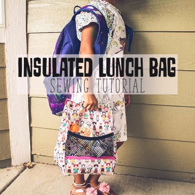 Insulated DIY Lunch Bag