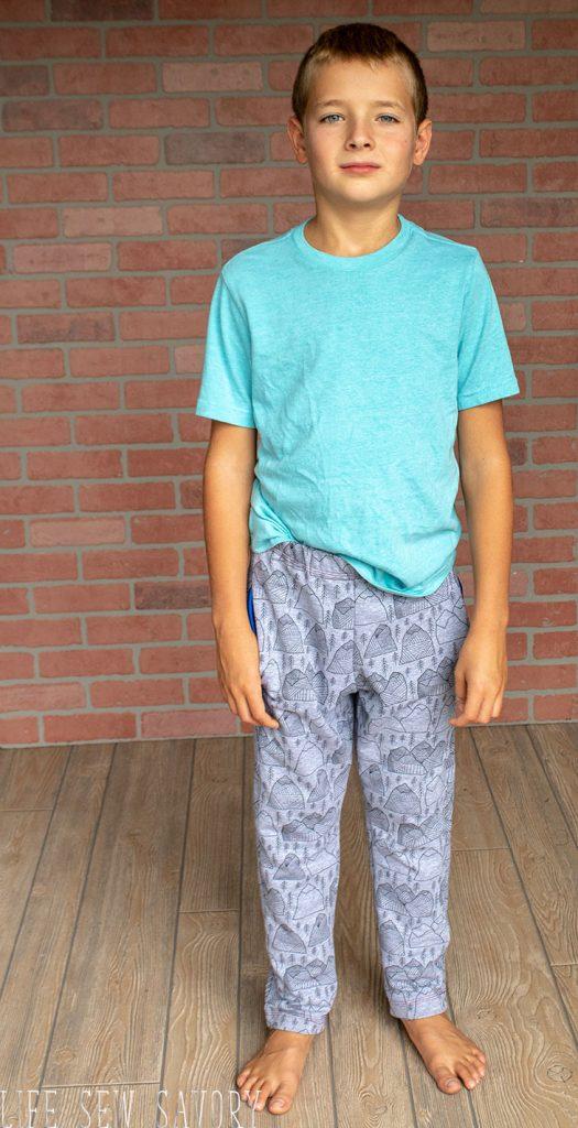 boys slim fit sweatpants