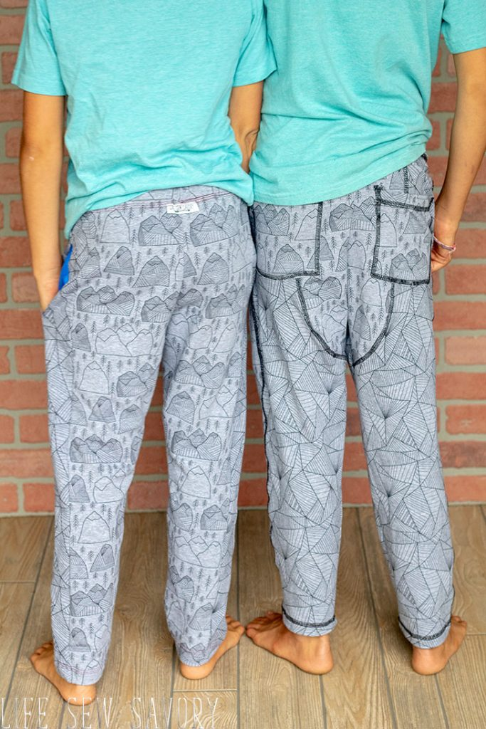 boys sweatpants slim fit joggers sewing pattern