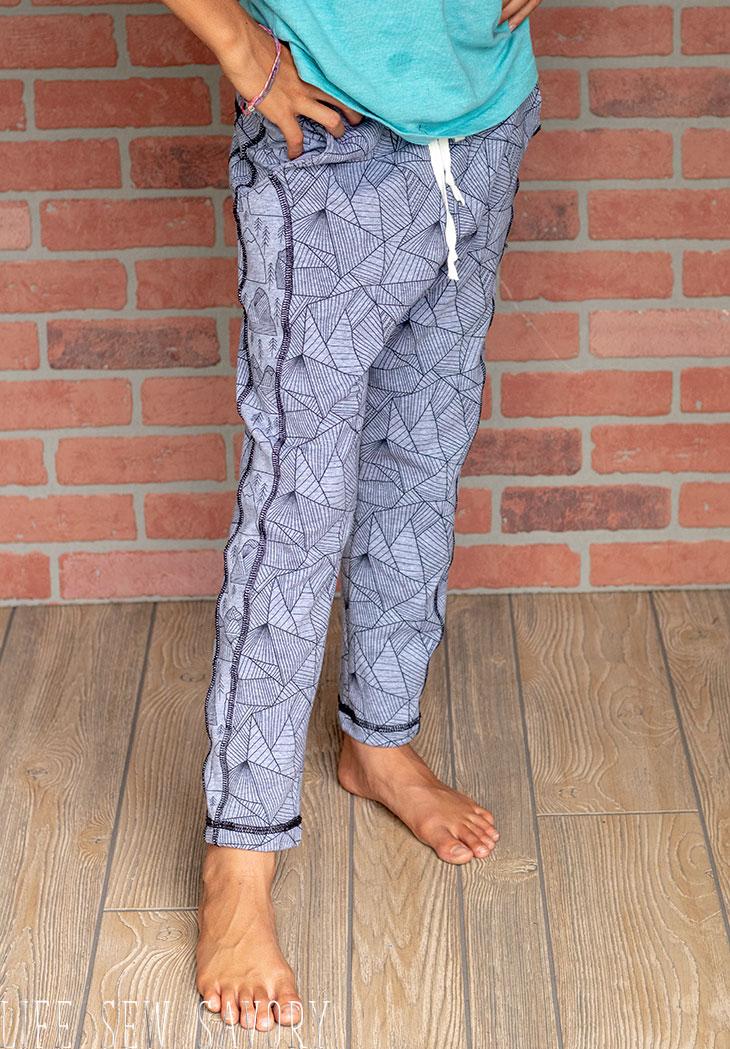 kids jogger pattern