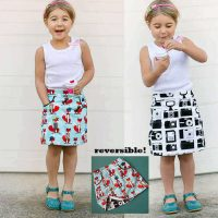The Potato Chip Skirt pattern – 12 months to 13/14 years - Tie Dye Diva Patterns