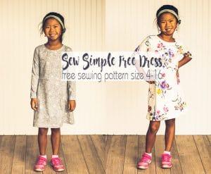 girls dress pattern free