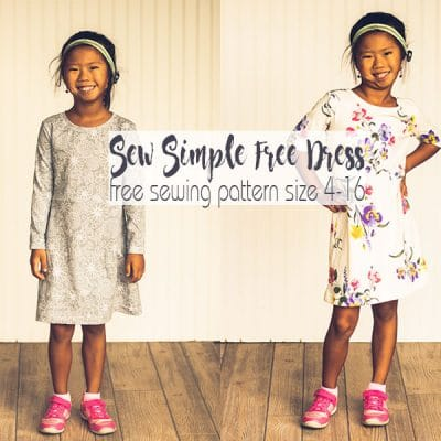 How to Sew a Dress – Free Sewing Pattern