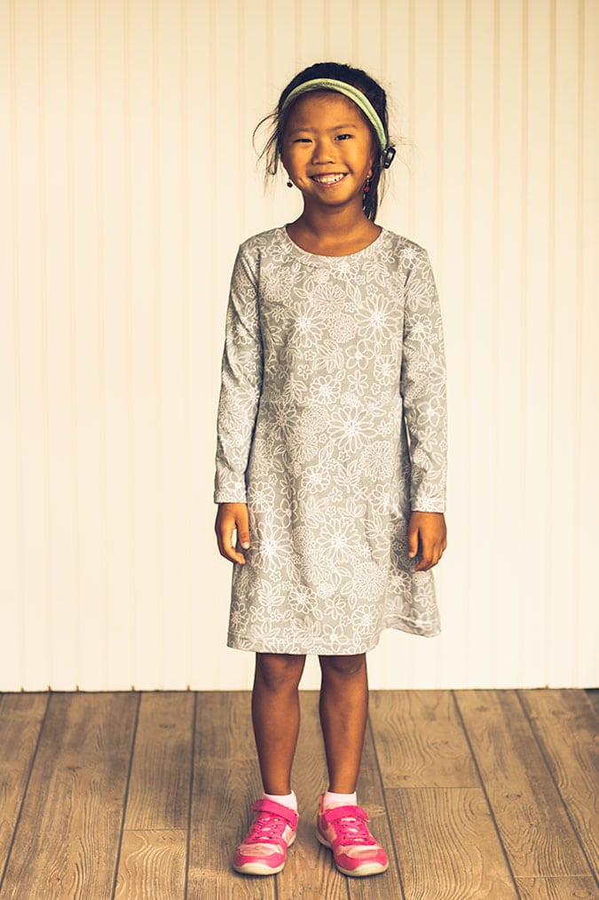 girls dress pattern free